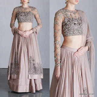 lehenga blouse designs catalogue