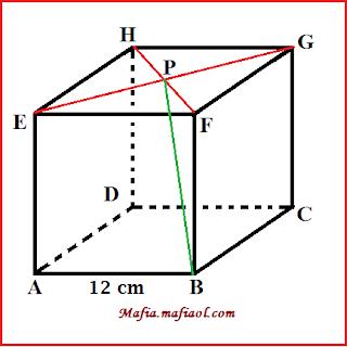Contoh Soal Cara Menghitung Jarak Titik ke Garis Pada Kubus