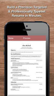 resume star pro iphone app