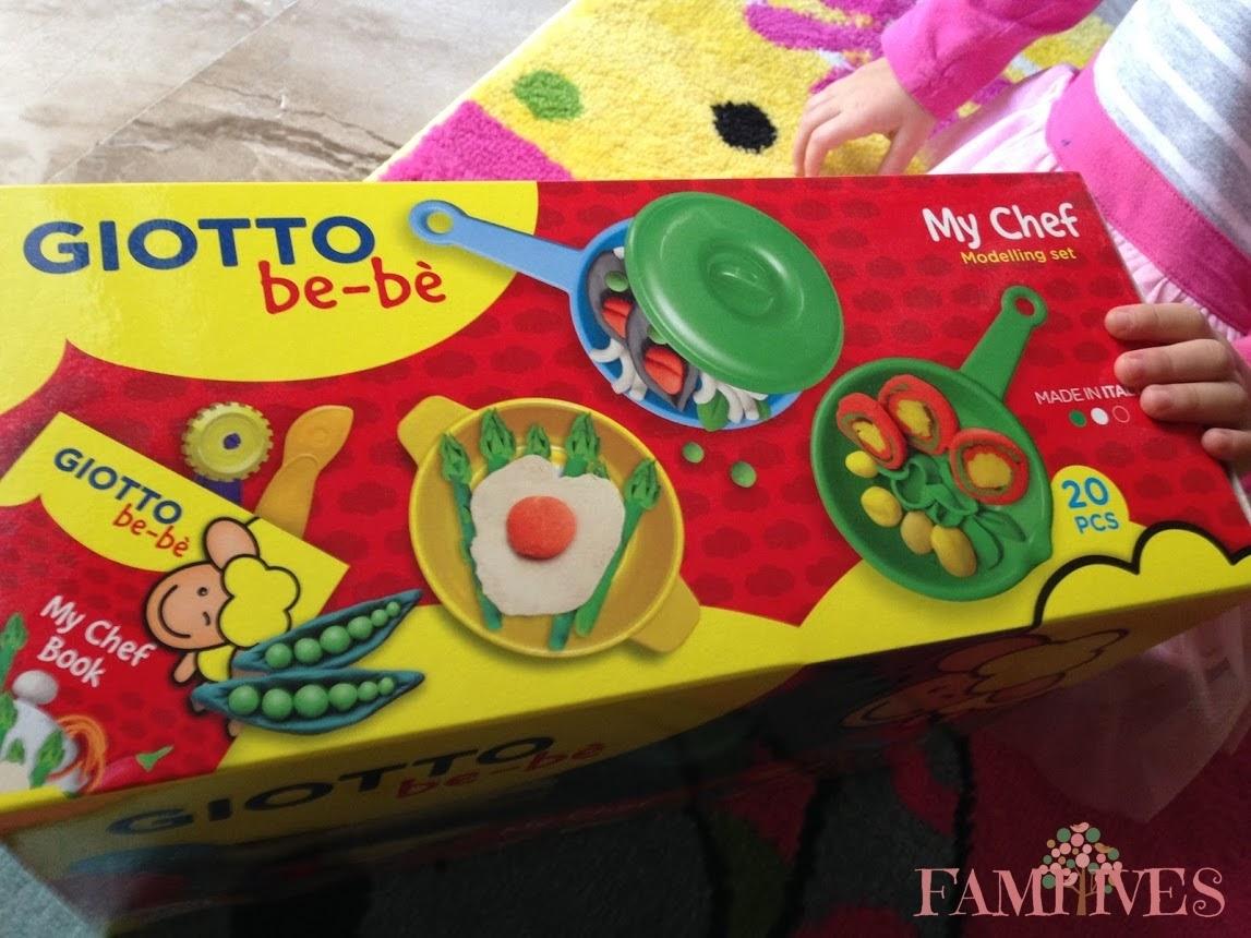 Παίζοντας με το σετ My Chef της σειράς Giotto bebe!