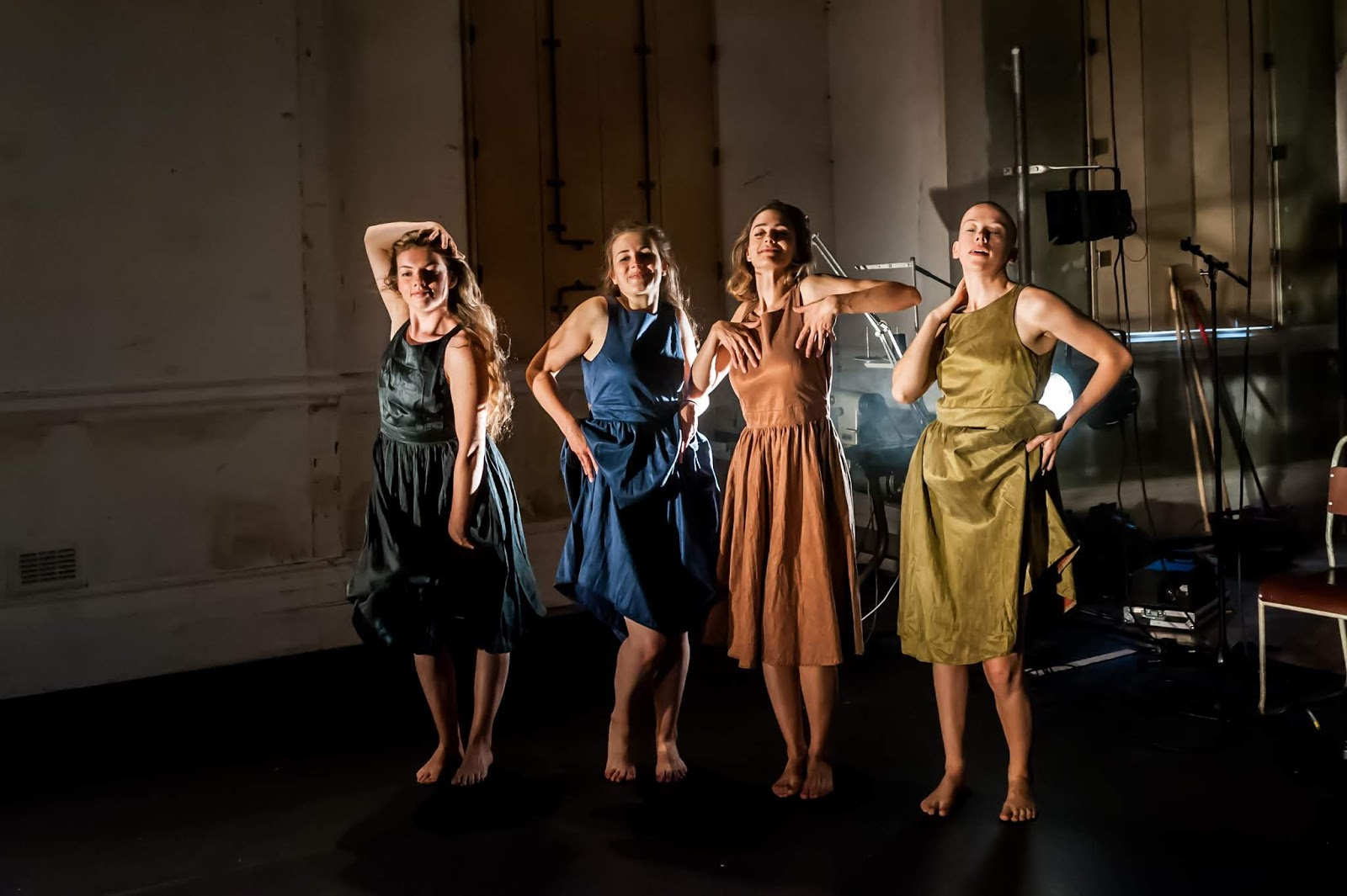 08379969f dressed. is an award-winning piece of theatre, co-created and performed by  Josie Dale-Jones (This Egg), Lydia Higginson, Nobahar Mahdavi and Olivia  Norris.