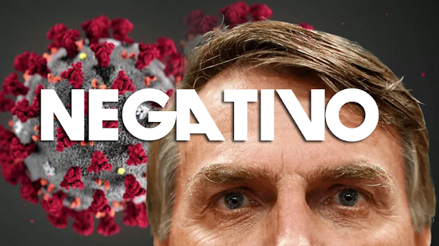 Resultado Oficial! Bolsonaro testa negativo para coronavírus e descarta doença!