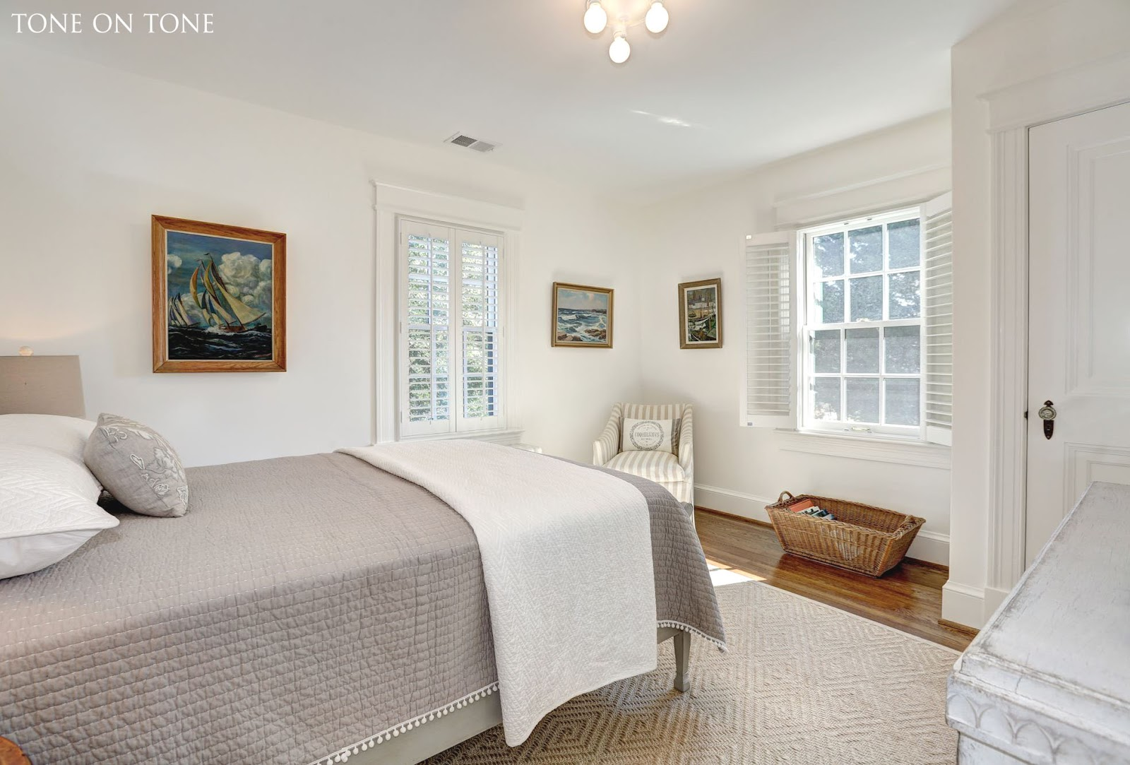Plantation Style Bedroom Furniture Tone On Tone Our Tudor Home