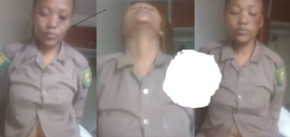 Female Officer Hops Unto lover Without Taking Off Uniform (Watch Video)