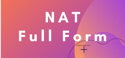 NAT full meaning