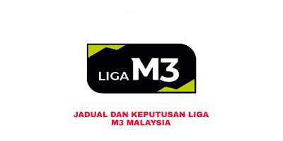 Keputusan Liga M3 Malaysia 2019 (Jadual)