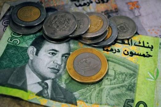 أخبار المغرب: الدرهم dirham يرتفع أمام الدولار dollar وينخفض مقابل اليورو euro