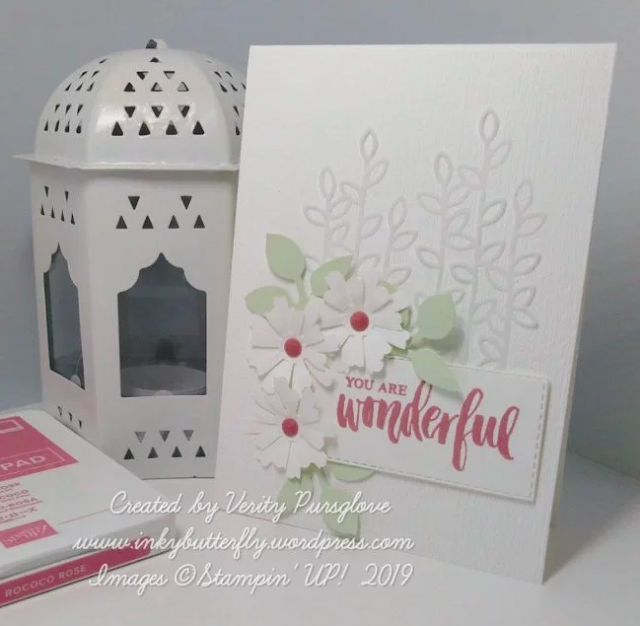 Nigezza Creates With Inkybutterfly Stampin Up Daisy Lane