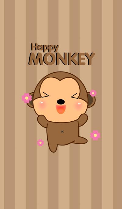 Simple Happy Monkey