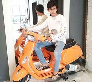 Salman Naik Motor