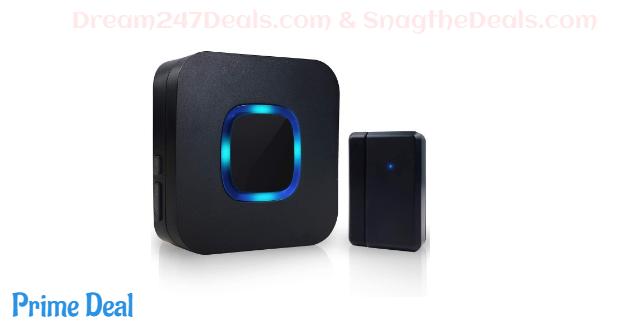 50% OFF Wireless Door Chime,Expandable Door Alarm Door Sensor