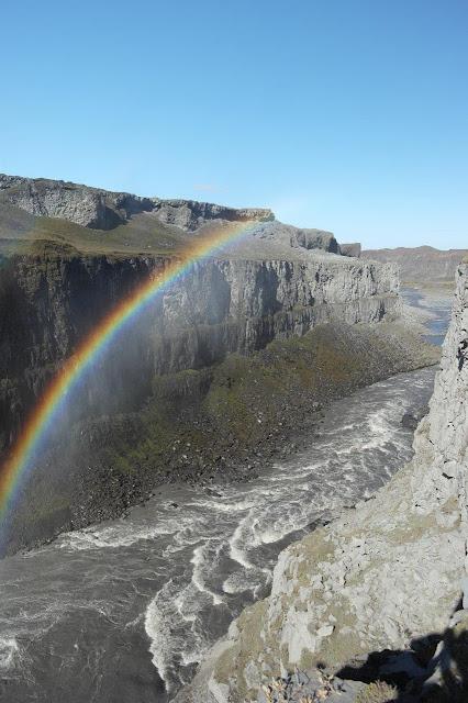 Arco-íris na Islândia