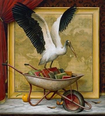As Migrações - Kevin Sloan e suas pinturas mágicas