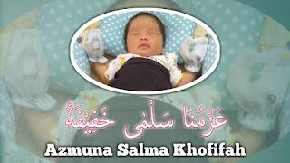 Lahirnya putri pertama yang cantik jelita