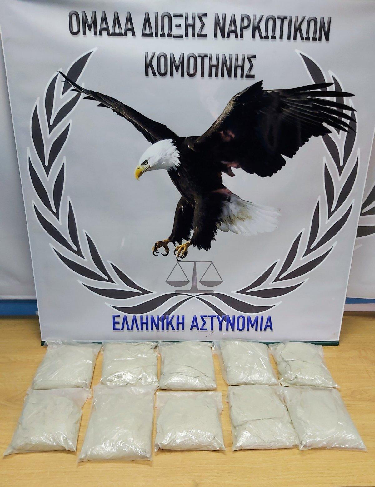 Σπείρα μετέφερε ναρκωτικά από Τουρκία – Τον τσάκωσαν με 10 σακούλες