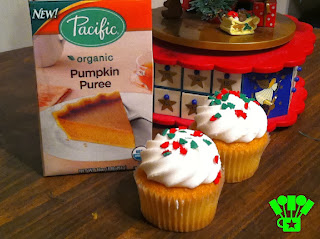 Be #CartonSmart with Pumpkin Cupcakes this holiday