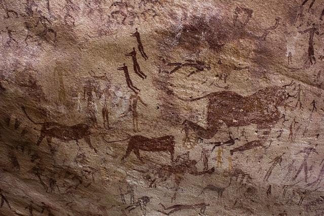 Palaeolithic Age Cave Art