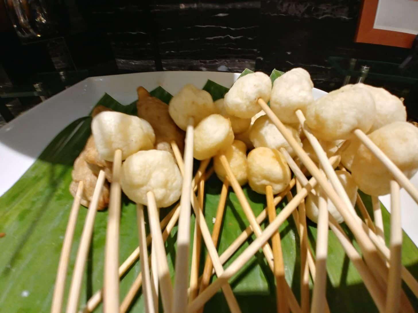 Squid balls at Buffet 101 Restaurant