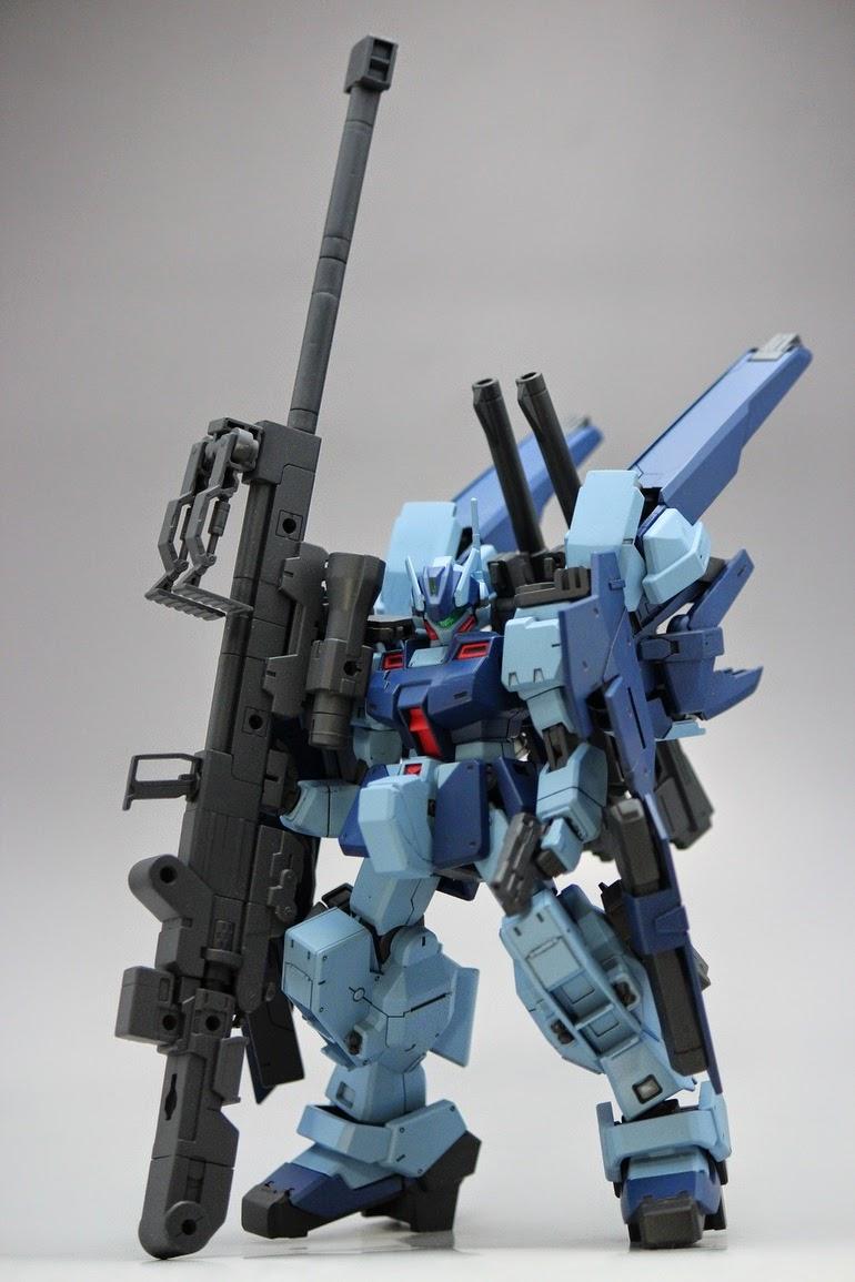 Custom Build Hguc 1 144 Gm Sniper Quot Fierceness Quot Gundam