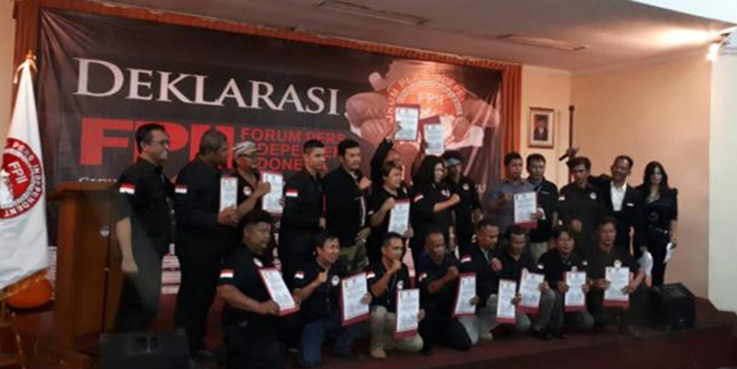 Deklarasi Forum Pers Independent Indonesia (FPII).
