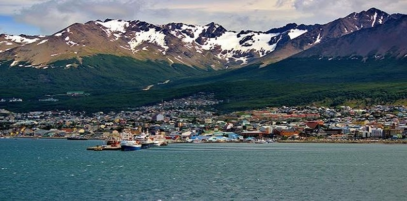Port of Ushuaia.