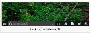 windows 10 taskbar transparent 1