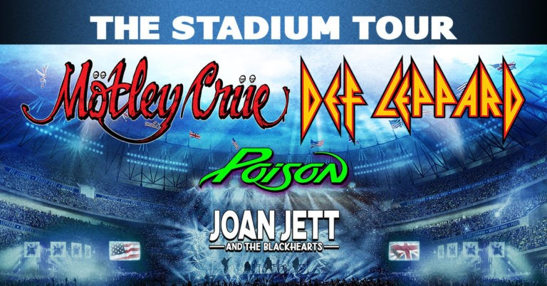 The Stadium Tour Summer 2020: Def Leppard, Motley Crue, With Poison and Joan Jett and The Blackhearts