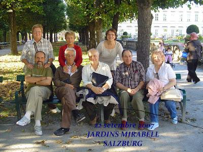Jardines Mirabell en Salzburg, año 2007