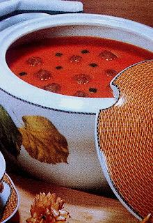 Sup Pedas Dengan Bola-Bola Daging Kambing