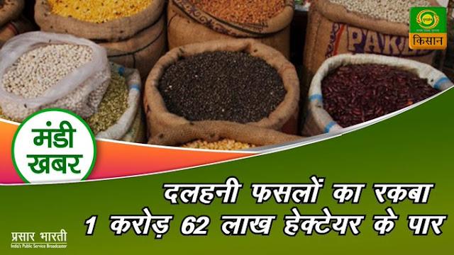 Mandi Ke bhav on Kisan Channel, Organic Farming in India