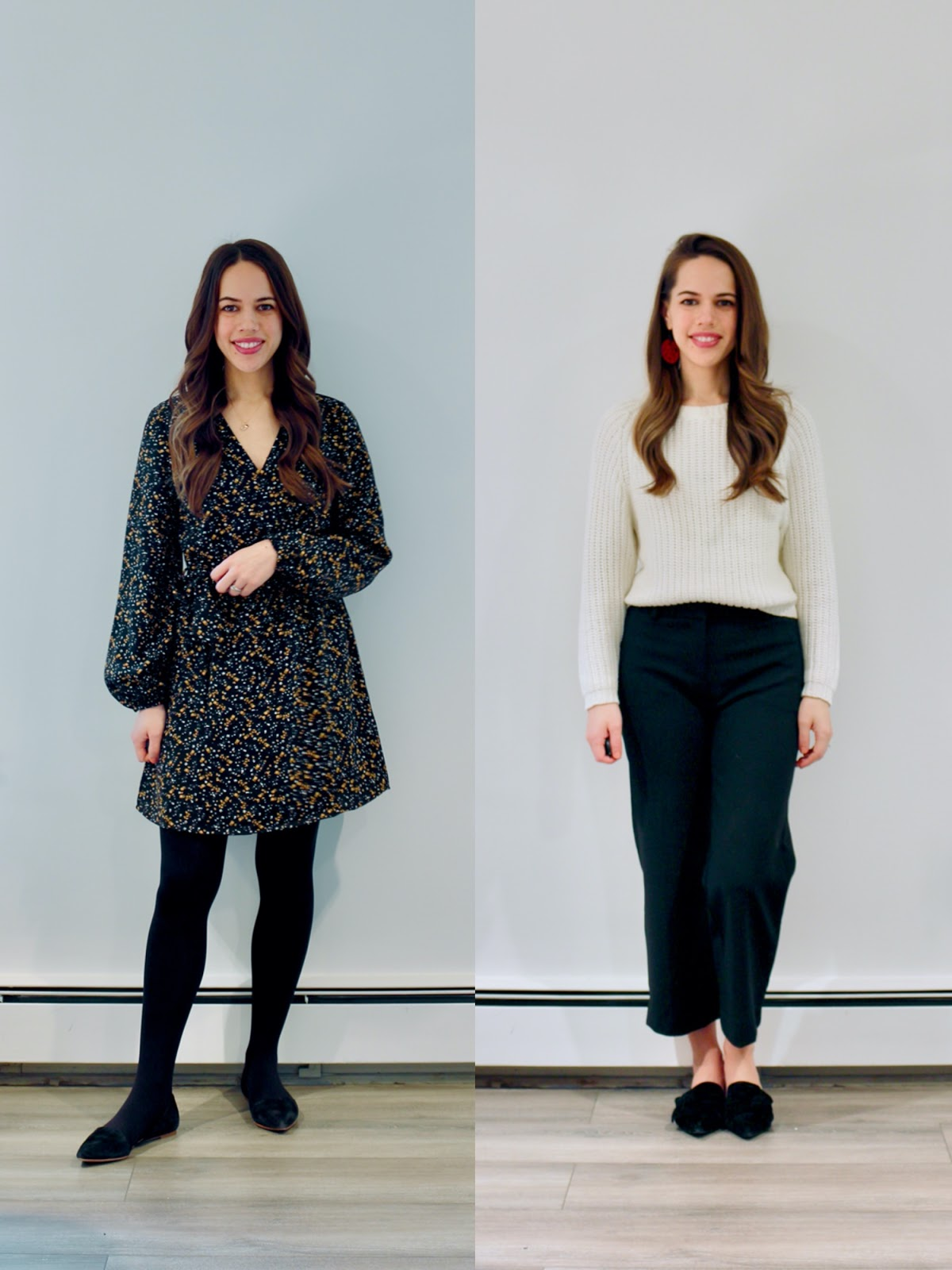 Jules in Flats - February Outfits Week 4 (Business Casual Winter Workwear on a Budget)