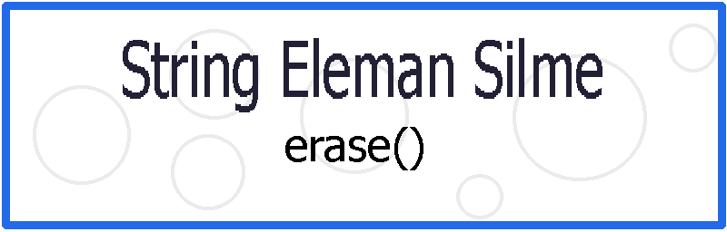 String Eleman Silme