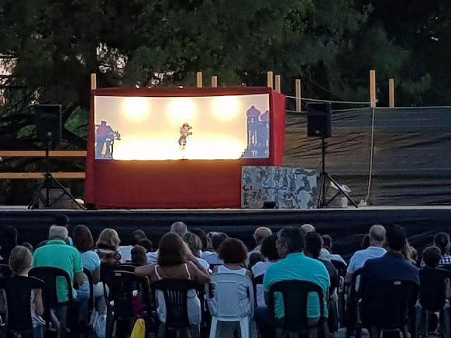 Θεσπρωτία: Μικροί και μεγάλοι στην Ηγουμενίτσα διασκέδασαν με τον Καραγκιόζη