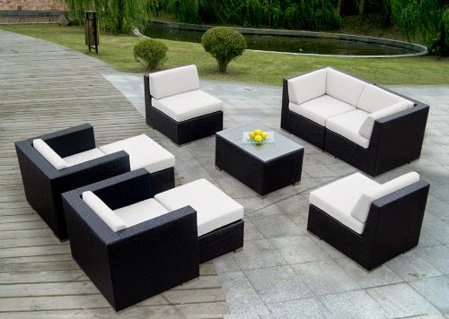 Sale off 49 ohana collection pnc2005a 20 piece outdoor for Chaise lounge band