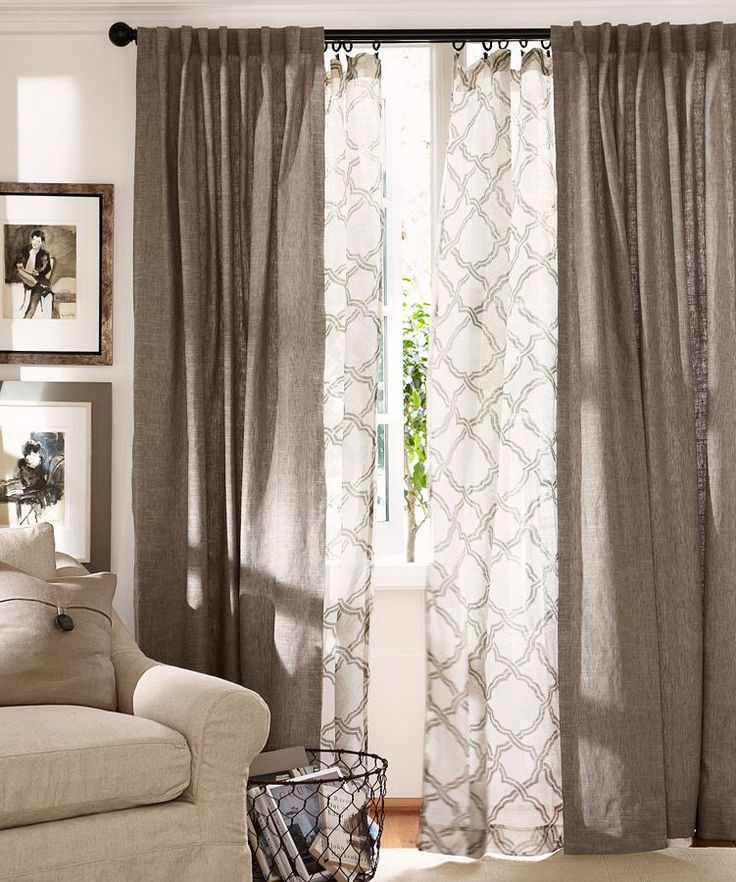 How To Hang Curtains On Bay Window Windows French Doors Traverse Rod Properly