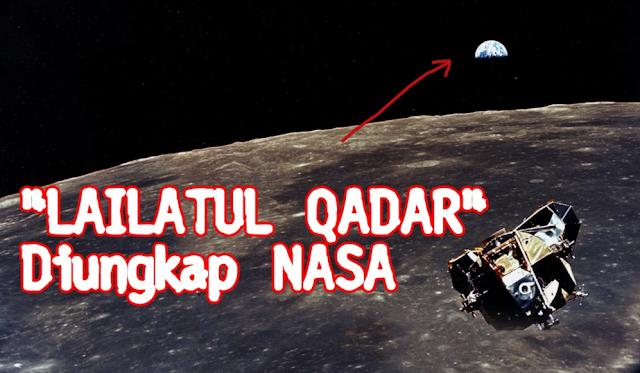 """Heboh! NASA Bongkar Misteri Malam """"Lailatul Qadar"""" dan Hasilnya Ternyata..."""