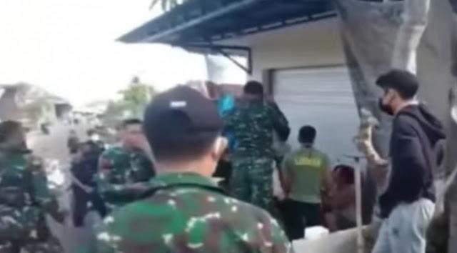 Viral! Rombongan TNI Pukuli Warga Bulelang Bali, Diduga Gegara Swab, Warganet Geram