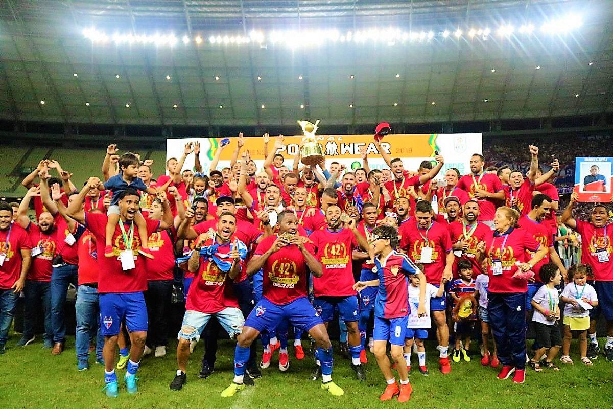 be964c69ec7ac O Fortaleza enfrentou o o Ceará na tarde deste domingo (21), na Arena  Castelão, para buscar o 42° título do Campeonato Cearense. O Tricolor  entrou em campo ...