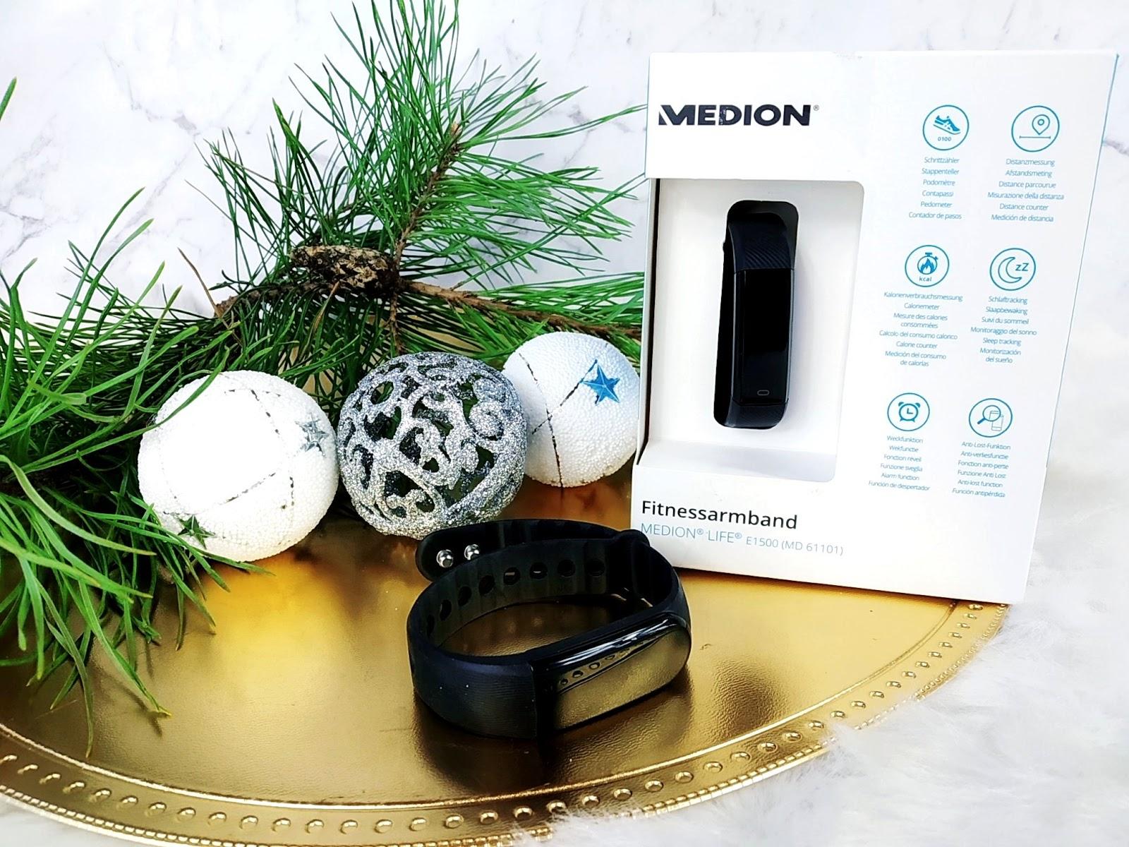 Opaski fitness marki MEDION - masa funkcji za niezwykle niską cenę!