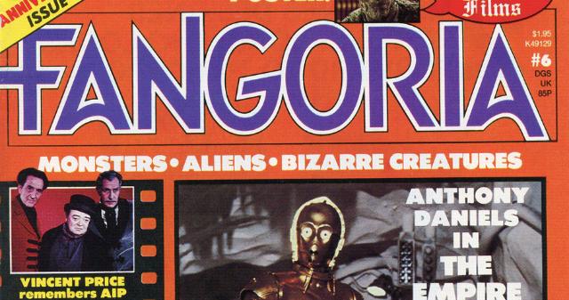 Fangoria Magazine No. 1 - 1979 - GREAT SHAPE!