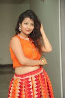 Shubhangi Bant in Orange Lehenga Choli Stunning Beauty ~  Exclusive Celebrities Galleries 053.JPG