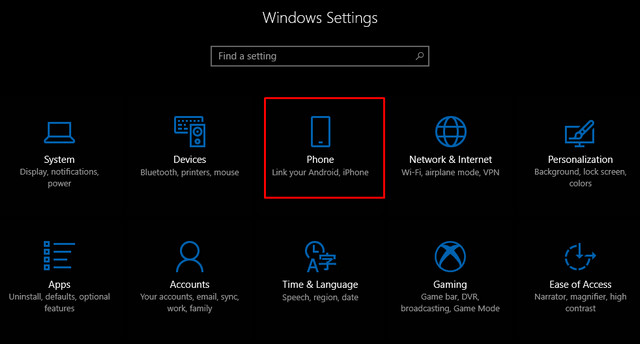 كيف تربط هاتف اندرويد او ايفون بجهاز كمبيوتر بنظام وبندوز 10 ؟