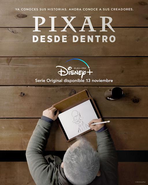 Cartel Pixar desde dentro