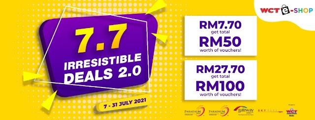 Jangan Lepaskan Tawaran 'Irresistible Deals' dari WCT Malls Sehingga 31 Julai 2021 Ini