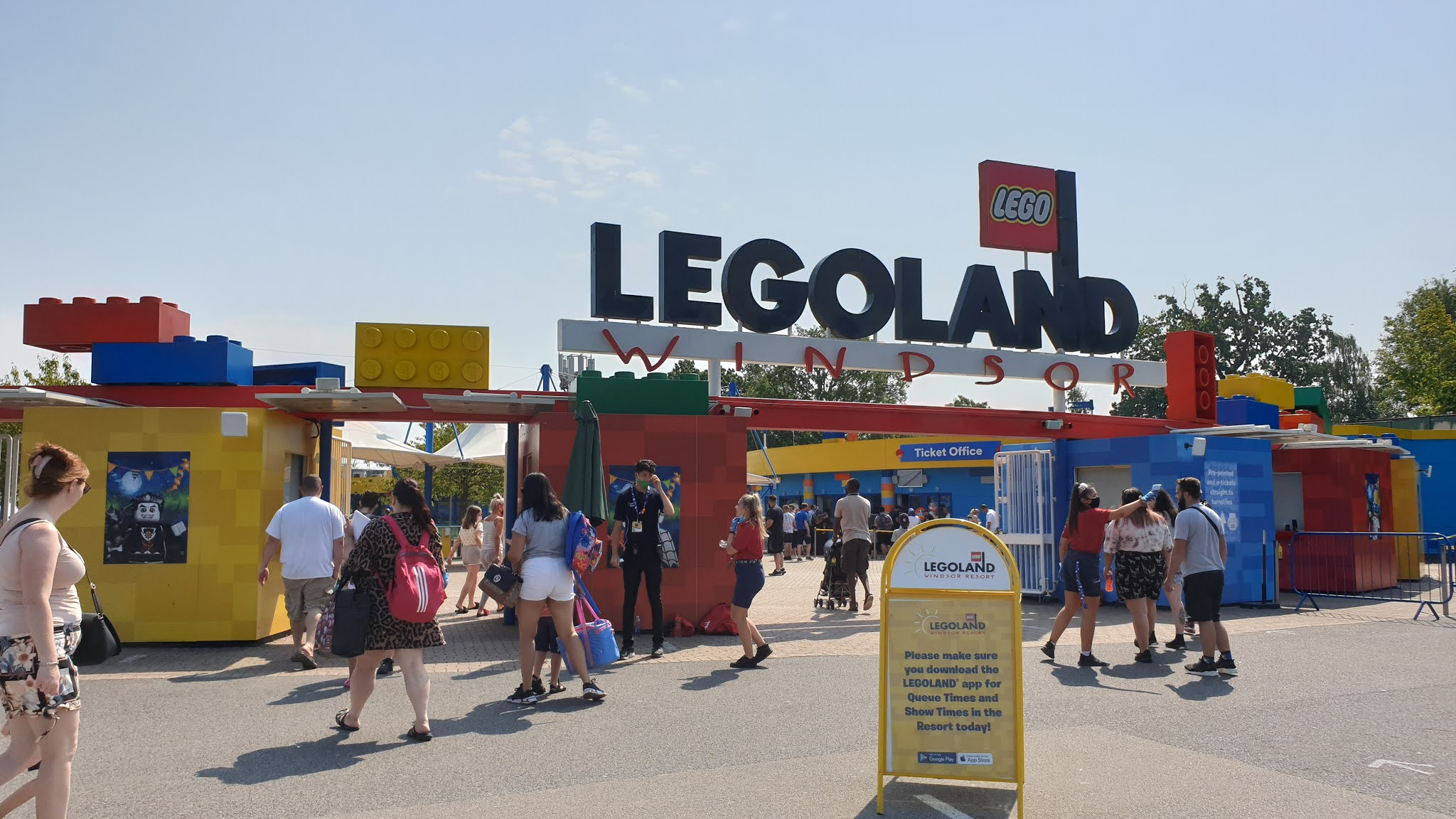 legoland windsor entry