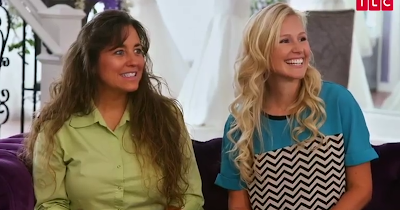 Michelle Duggar and Christina Caldwell