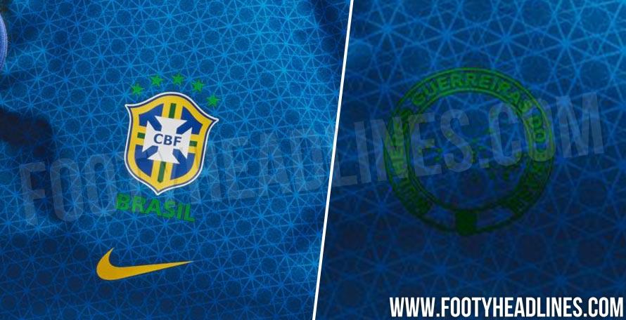 Brazil 2019 Women s World Cup Away Kit Design Leaked - Leaked Soccer ... a7c832780