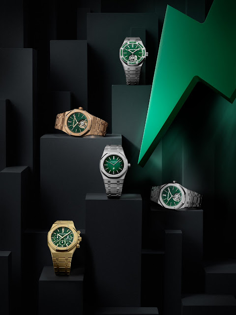 Audemars Piguet Royal Oak Green Dial models 2021