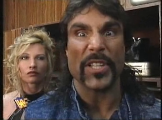 WWF / WWE - IN YOUR HOUSE 7 - GOOD FRIENDS BETTER ENEMIES - Wildman Marc Mero and Sable weren't happy with Hunter Hearst Helmsley