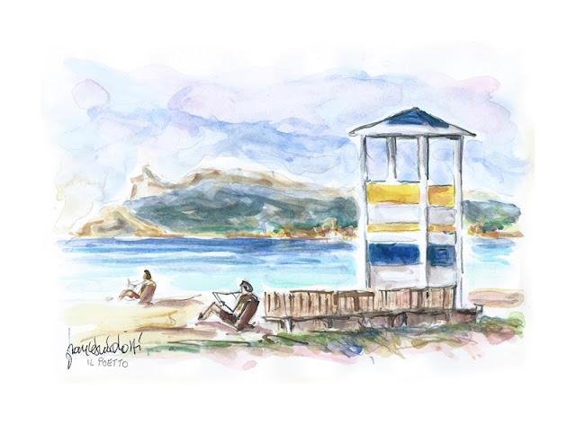 Poetto la spiaggia